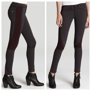 Rag and Bone paneled jeans
